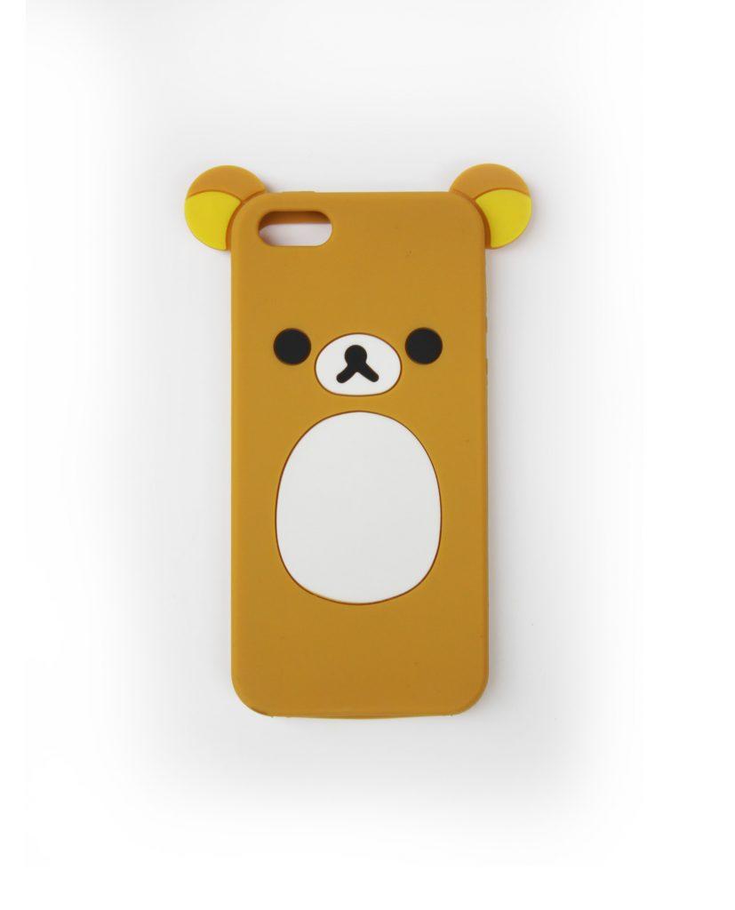 Fundas monísimas y súper Kawaii de Rilakkuma!! Esta funda blandita de silicona perfecta para amortiguar todos los golpes de tu Iphone 5!!