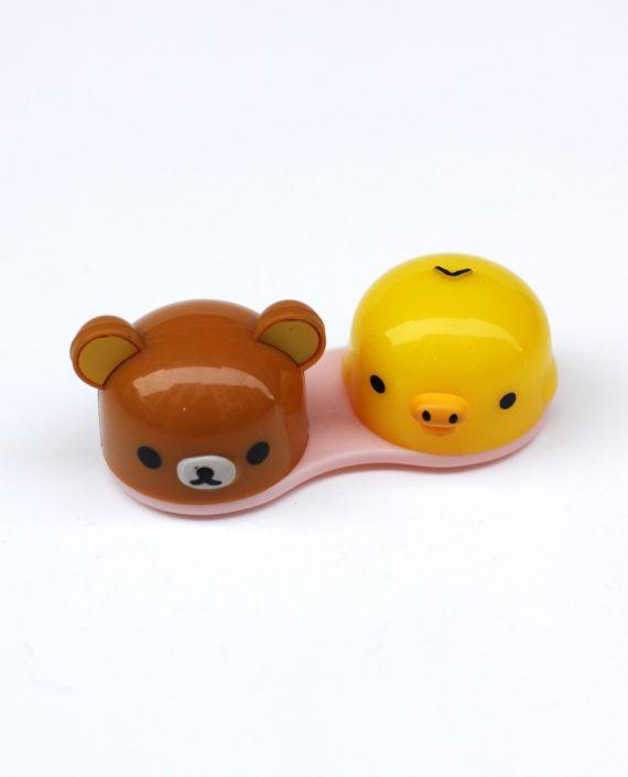 Con este porta lentillas de Rilakkuma desearás necesitar... lentillas!! Es súper mono y cómodo y podrás elegir entre 3 diseños diferentes.
