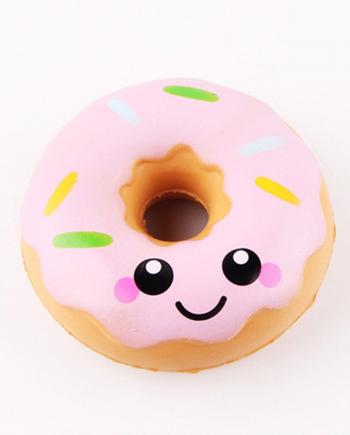 squishy donut rosa