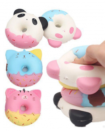 squishy animal donuts