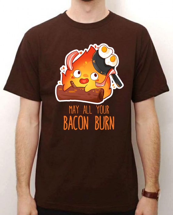 camiseta calcifer ghibli
