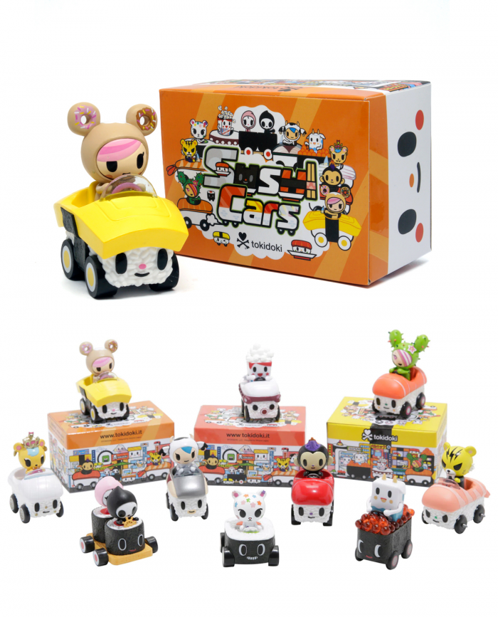 Figuras tokidoki sushi cars