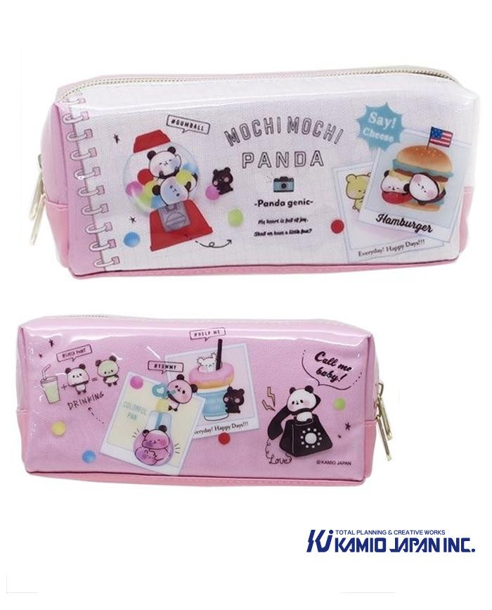 estuche rosa mochi panda