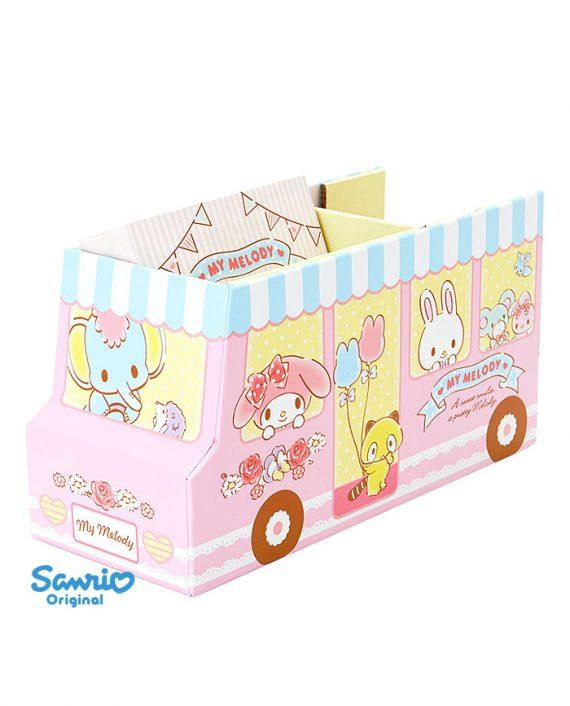 Organizador papeleria my melody autobus kawaii