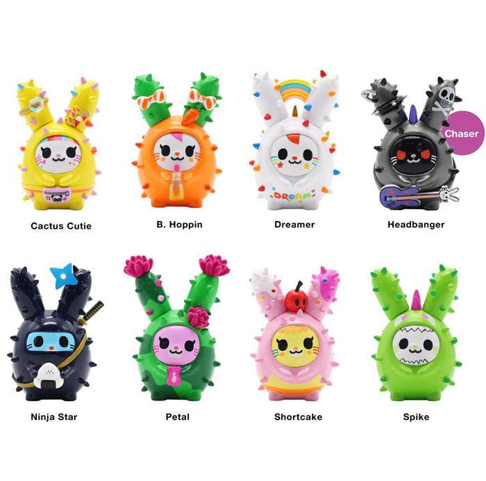 Figuras cactus bunnies tokidoki