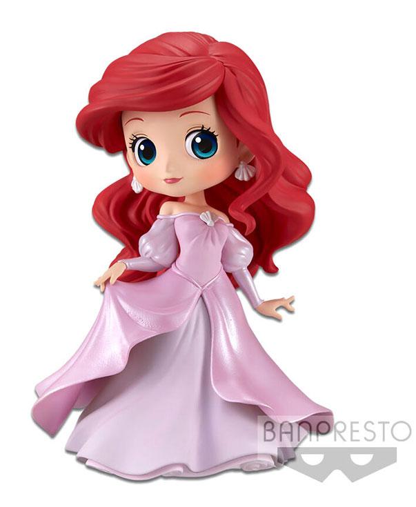 Q posket ariel vestido princesa rosa