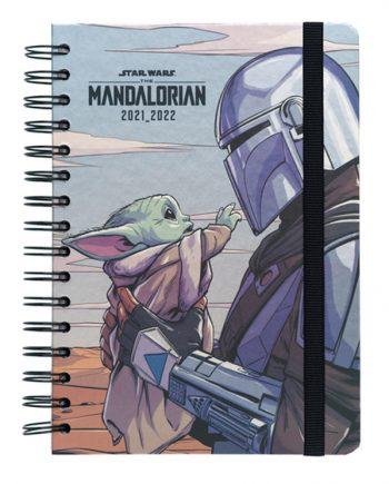 agenda escolar starwars the mandalorian