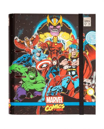 Carpeta premium marvel avengers