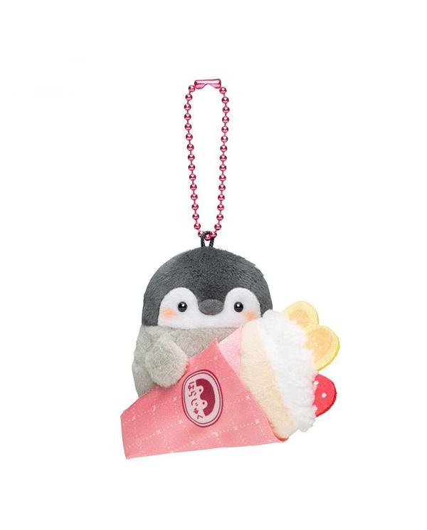 llavero pinguino con crepe