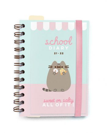 agenda escolar pusheen