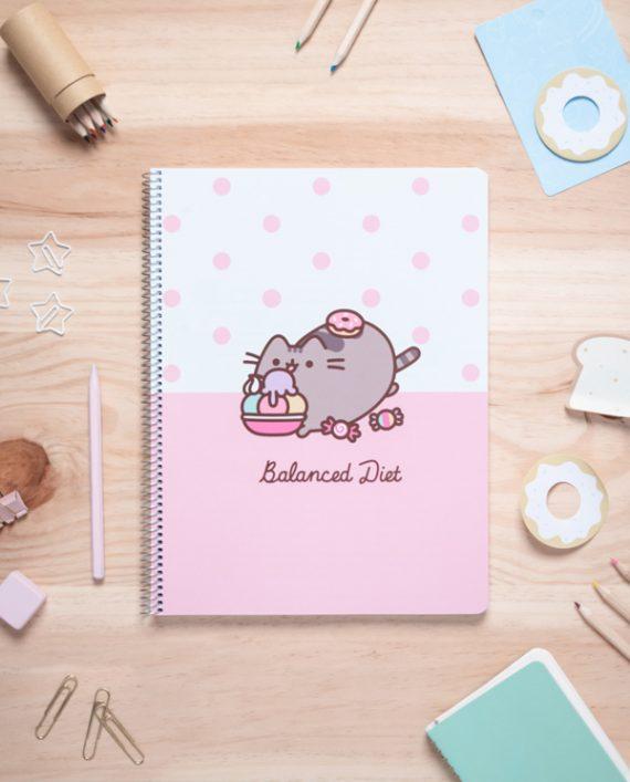 cuaderno pusheen kawaii papeleria