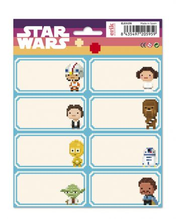 Etiquetas starwars adhesivas