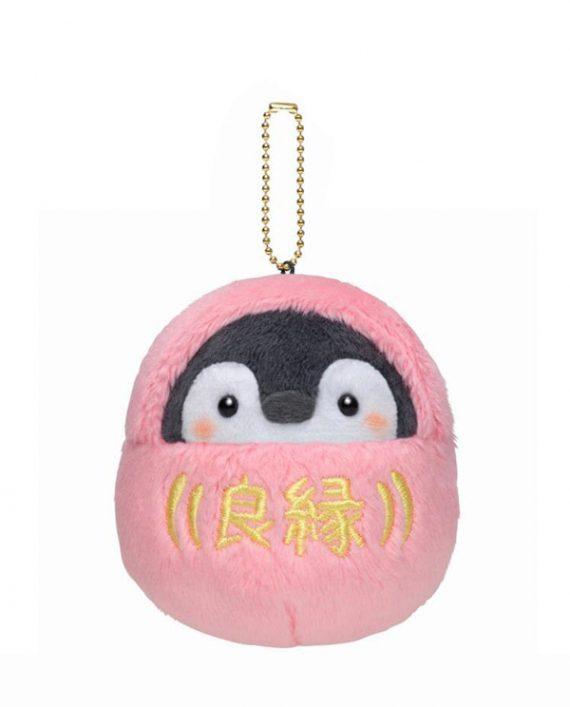 llavero peluche pingüino kawaii