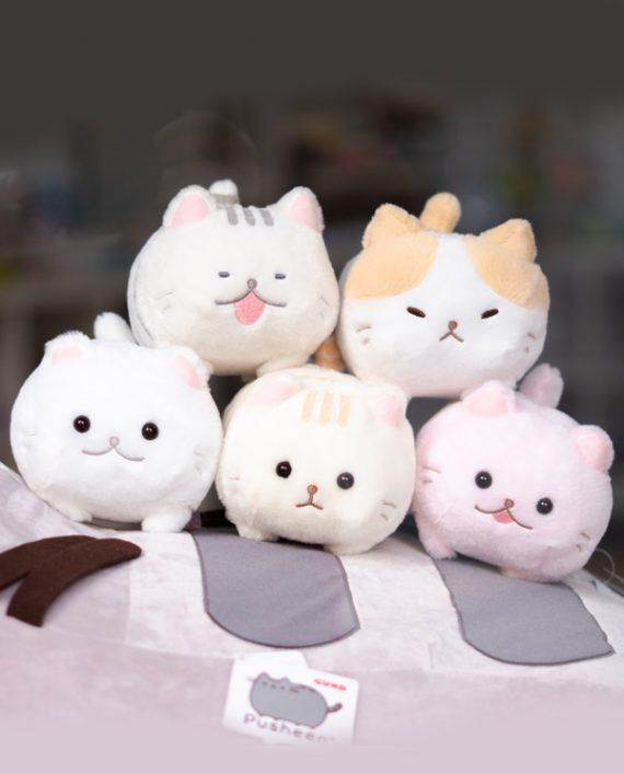 Peluche de gato Marshmallow Rosa