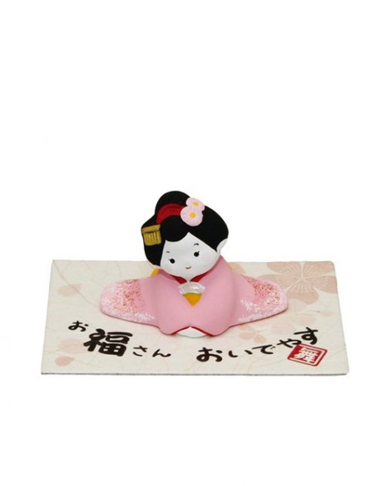 Figurita Japonesa de Geisha sentada
