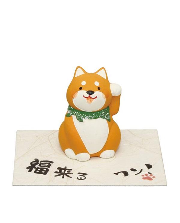 Figura Pequeña de Shiba