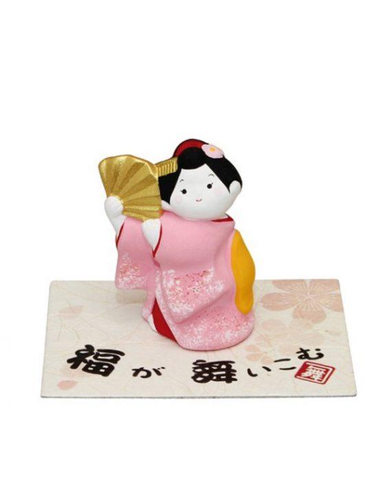 Figurita Japonesa de Geisha