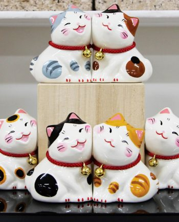 Gatitos decorativos kawaii figura