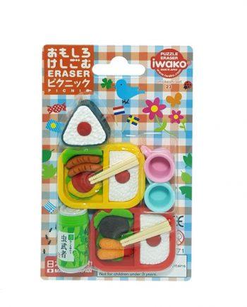 gomas de borrar iwako Omekeshi Sushi