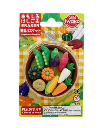 gomas borrar verdura kawaii