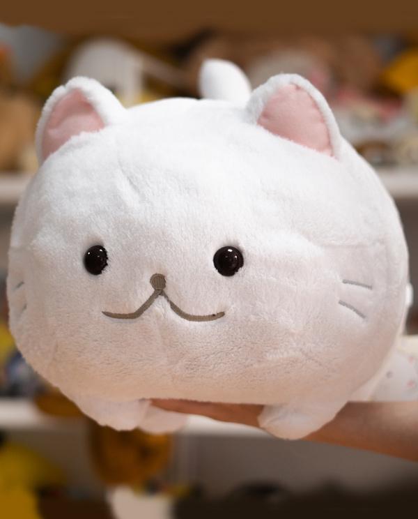 Peluche de gato Grande Blanco