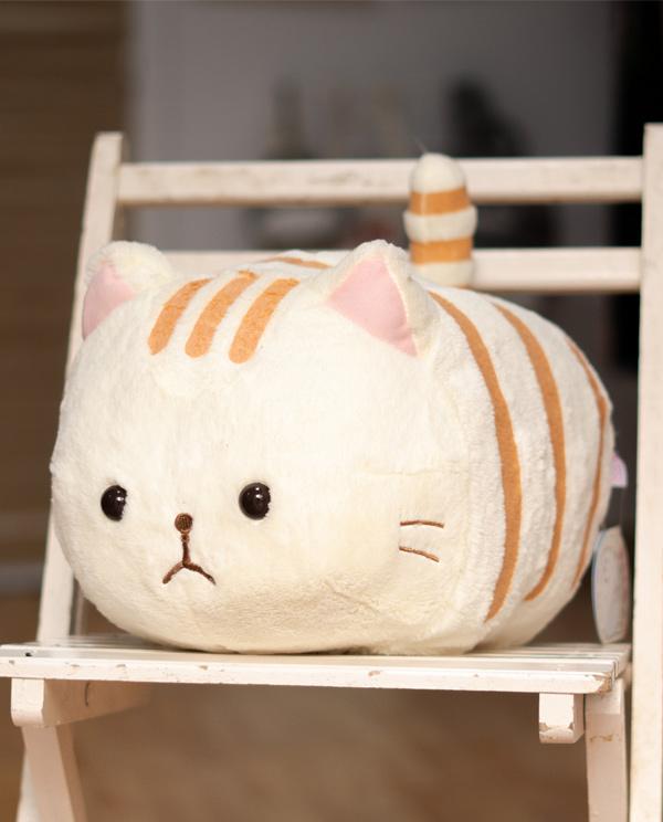 Peluche de gato Grande Naranja