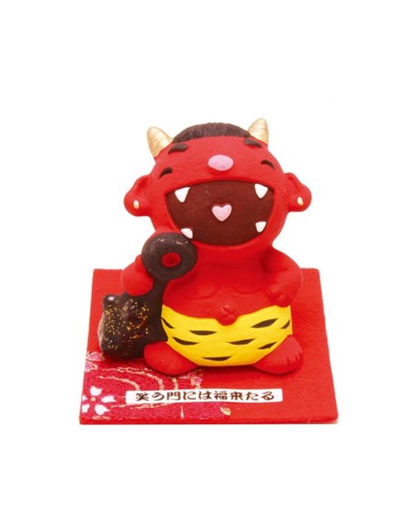 Figura Chibi de Oni rojo