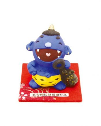 Figura Chibi de Oni azul