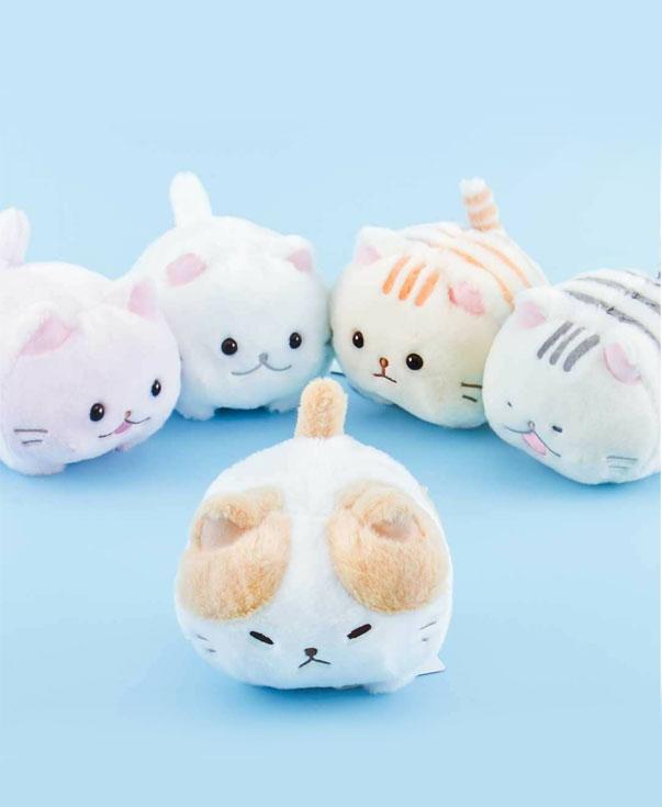Peluche de gato Marshmallow blanco