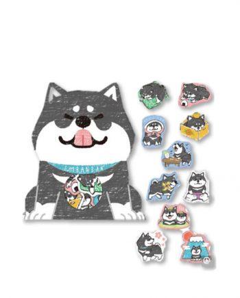 shibanban sticker perro husky