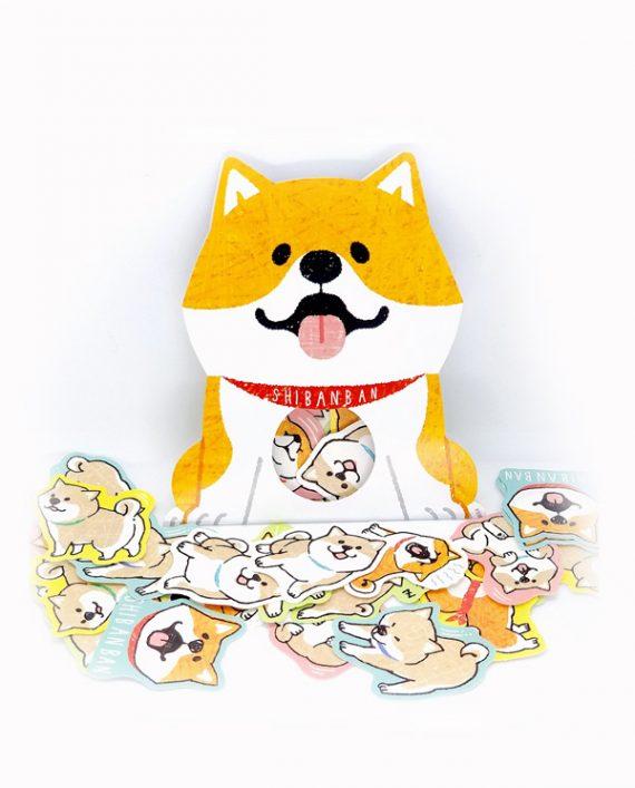 Stickers shiba inu kawaii